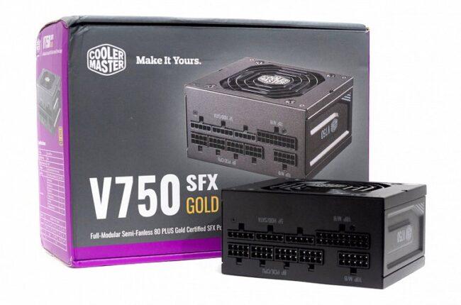 Обзор и тестирование блока питания Cooler Master V750 SFX Gold
