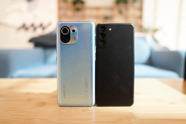 Samsung S21 против Xiaomi Mi 11 – что лучше? Сравниваем